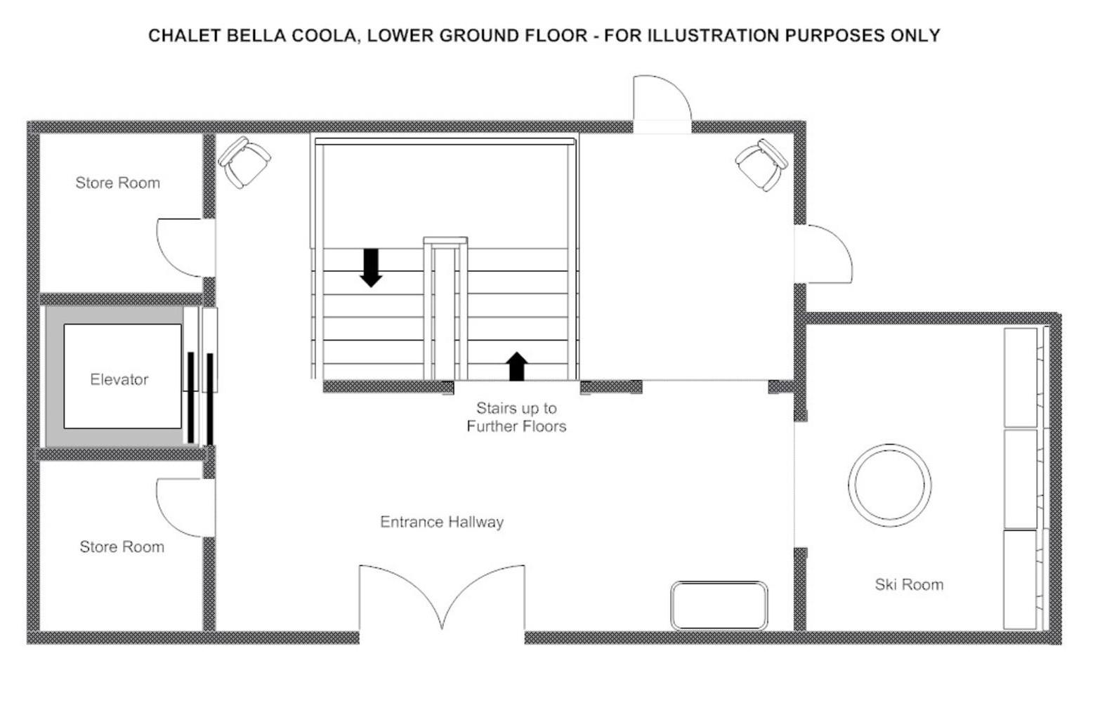 Bella Coola Estate Verbier Floor Plan 5