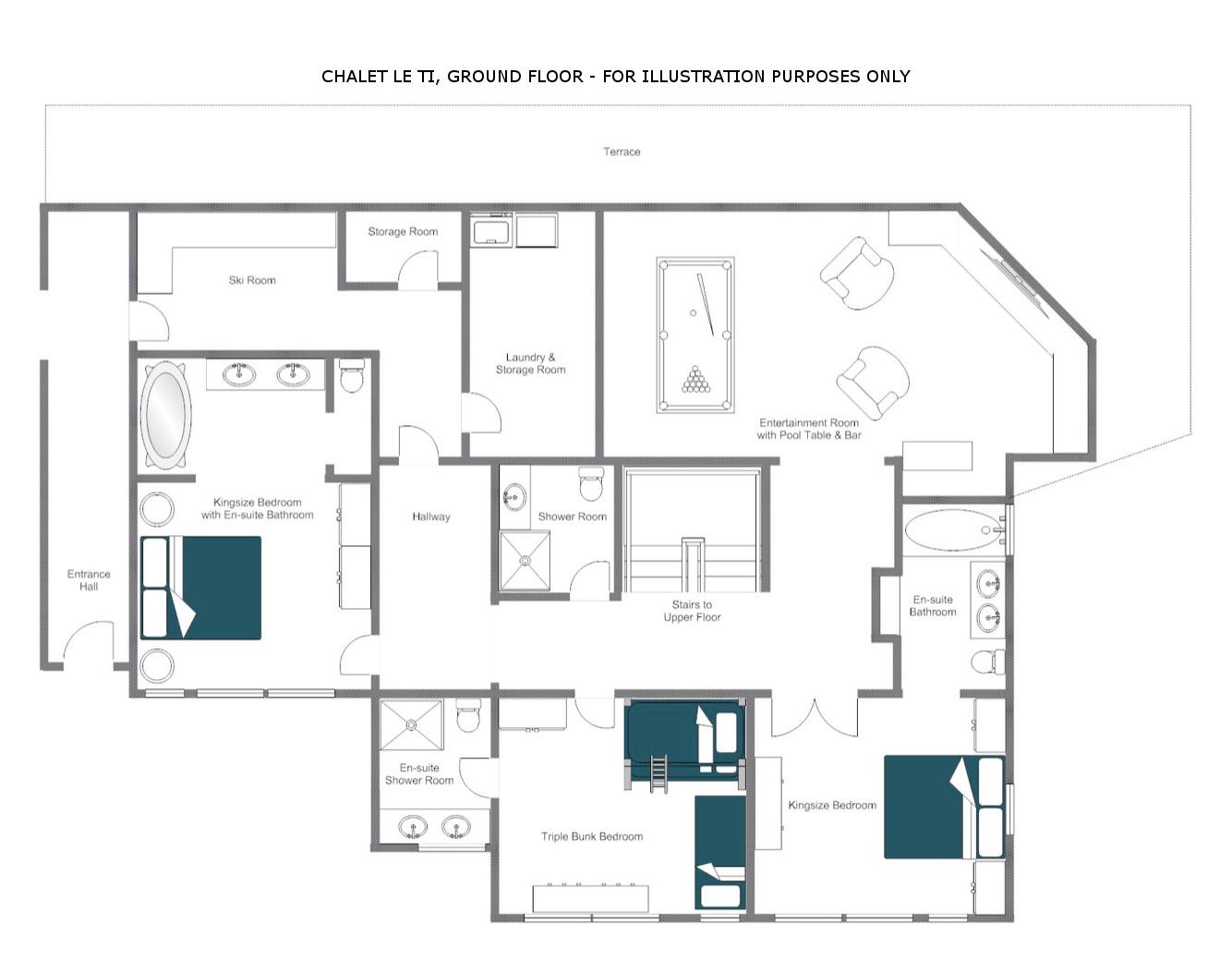 Bella Coola Estate Verbier Floor Plan 7