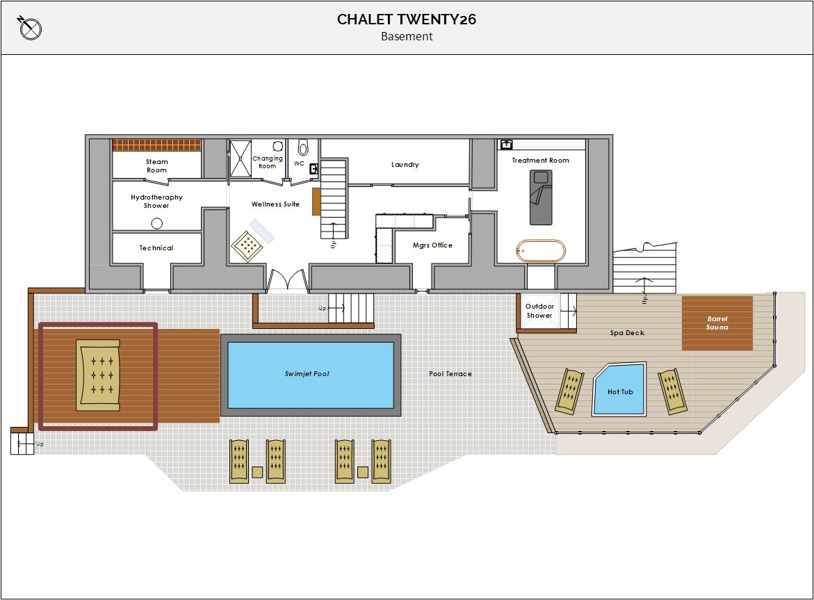 Chalet Twenty26 Morzine Floor Plan 4