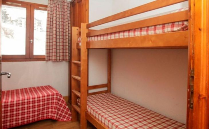 Val Claret Apartments, Tignes, Bunk Bedroom