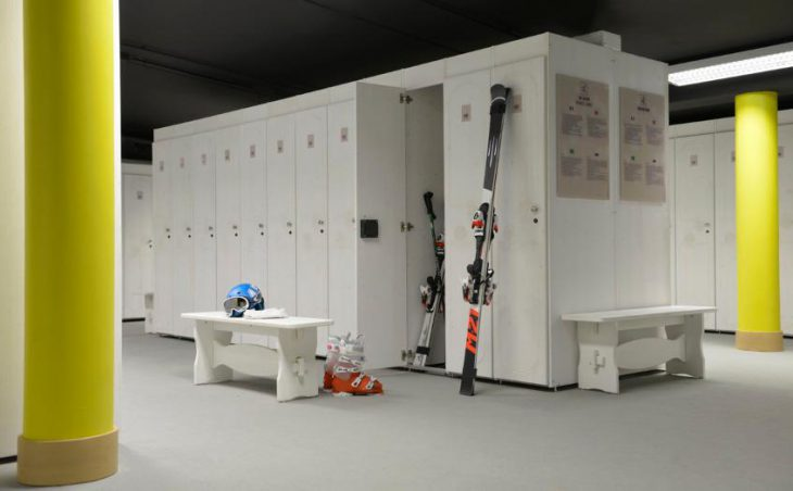 Club Med Val Thorens Sensations, Boot Room