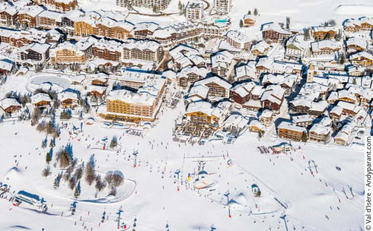 Val d'Isere, France, town