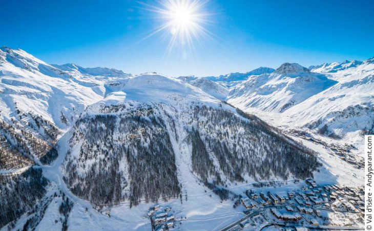 Val d'Isere, France, views