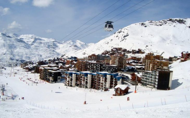 Val Thorens in mig images , France image 2