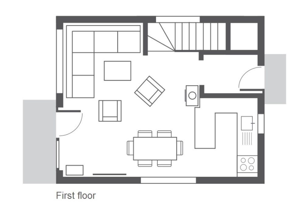 Chalet Yukon Meribel Floor Plan 2