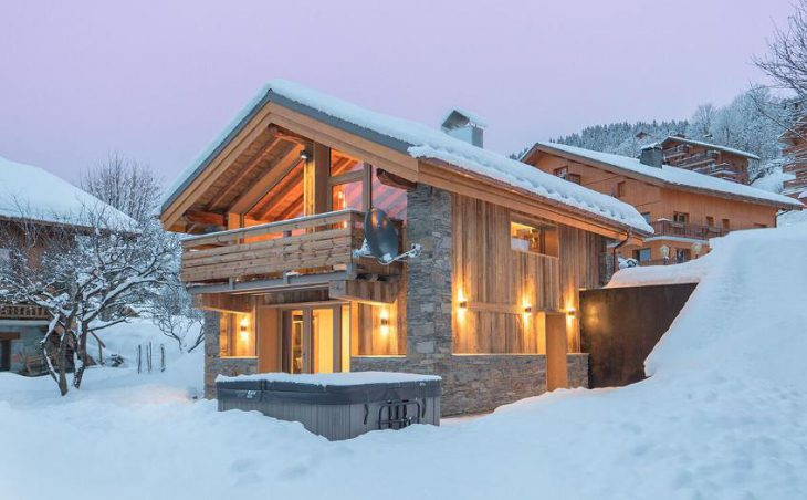 Chalet Yukon, Meribel, France, External