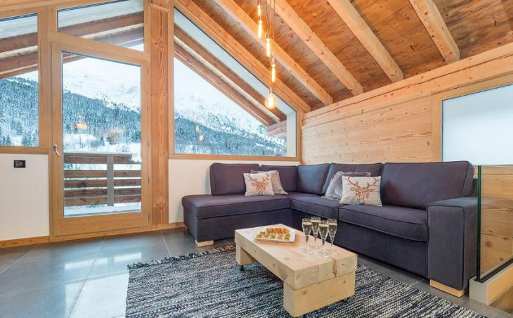 Chalet Yukon, Meribel, France, Lounge Area