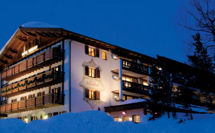 Hotel Berghof, Lech, Exterior