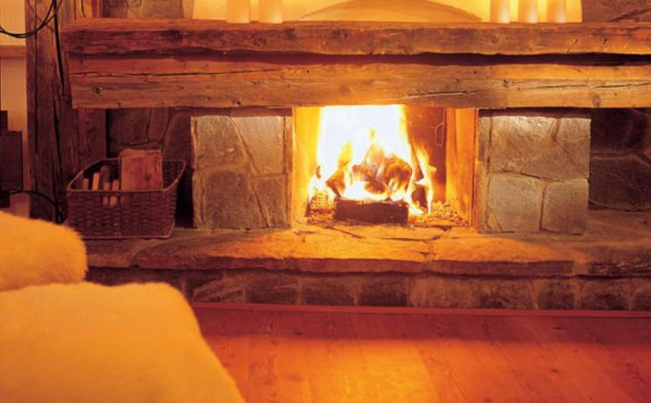 Hotel Bergwelt, Obergurgl, Lounge area with fire place