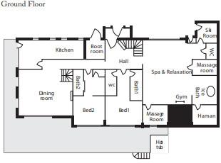 Chalet Les Brames Meribel Floor Plan 3