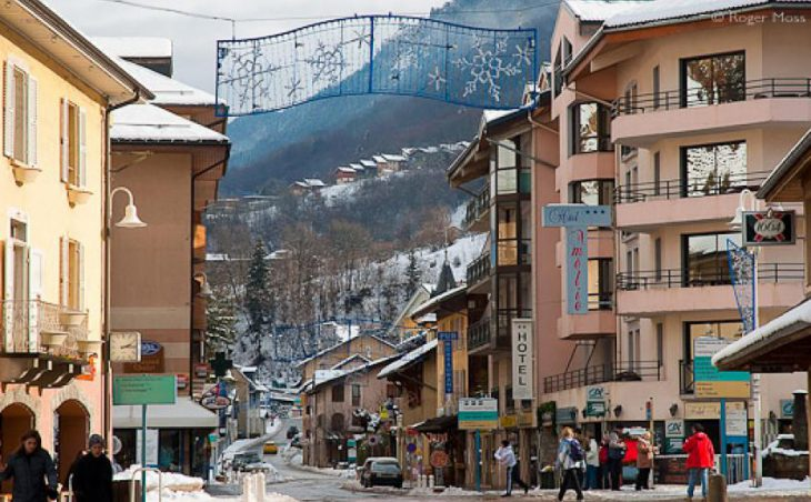 Brides les Bains Ski Resort France 2