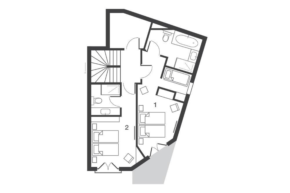 Chalet Kakisa Avoriaz Floor Plan 2