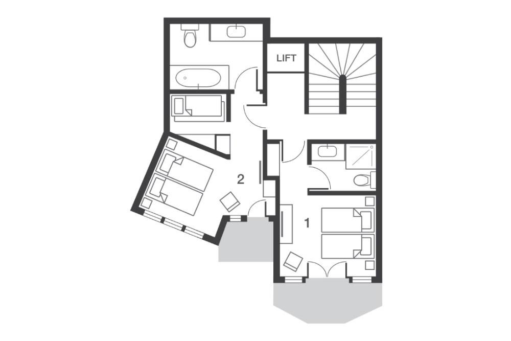 Chalet Beluga Avoriaz Floor Plan 5