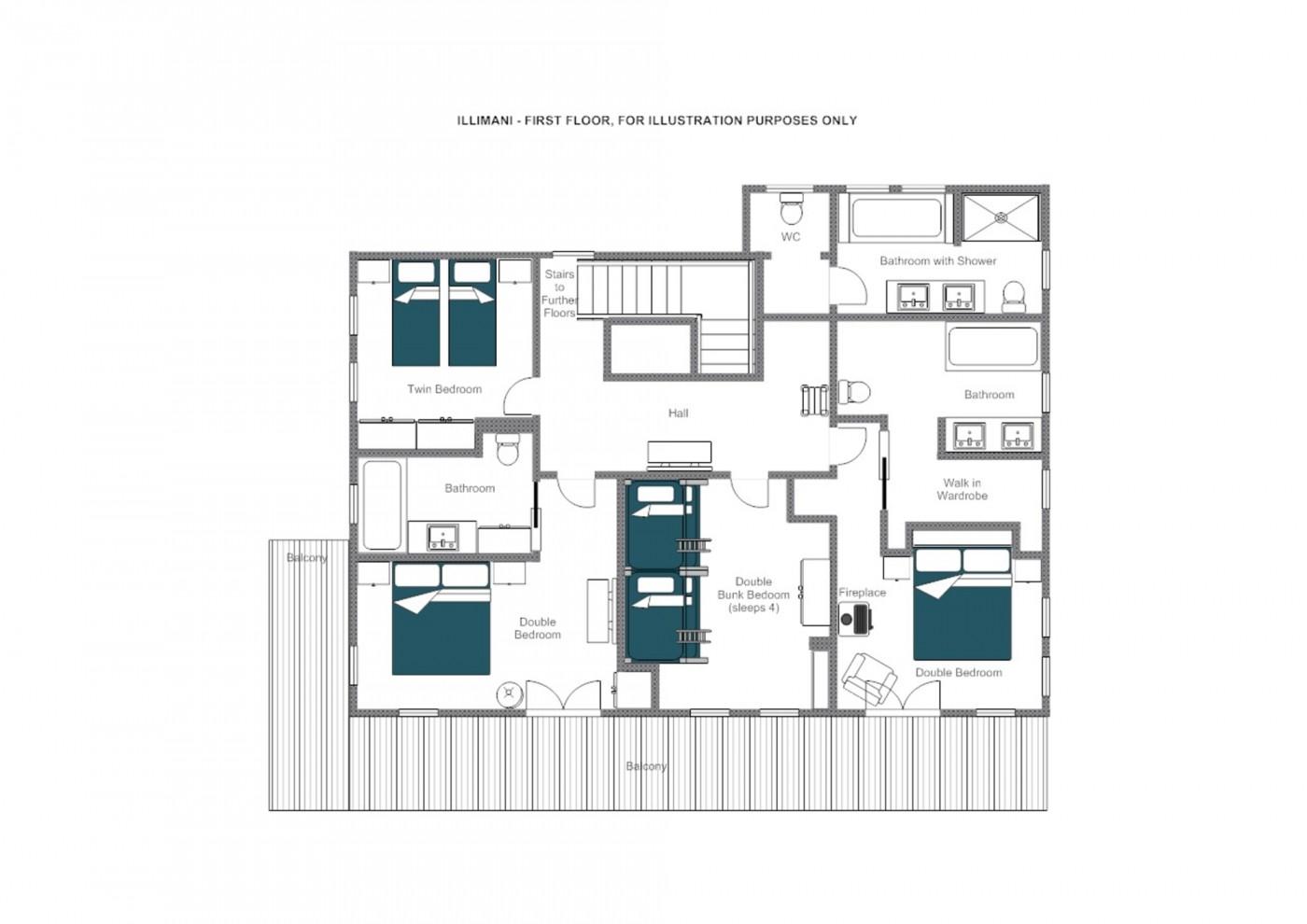 Chalet Illimani St Anton Floor Plan 4