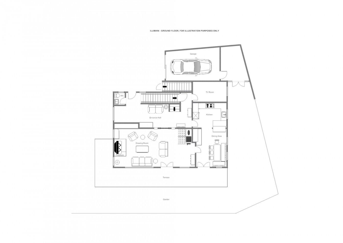 Chalet Illimani St Anton Floor Plan 3