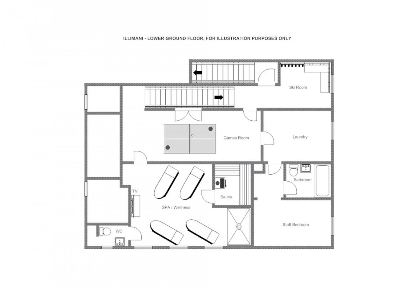 Chalet Illimani St Anton Floor Plan 2
