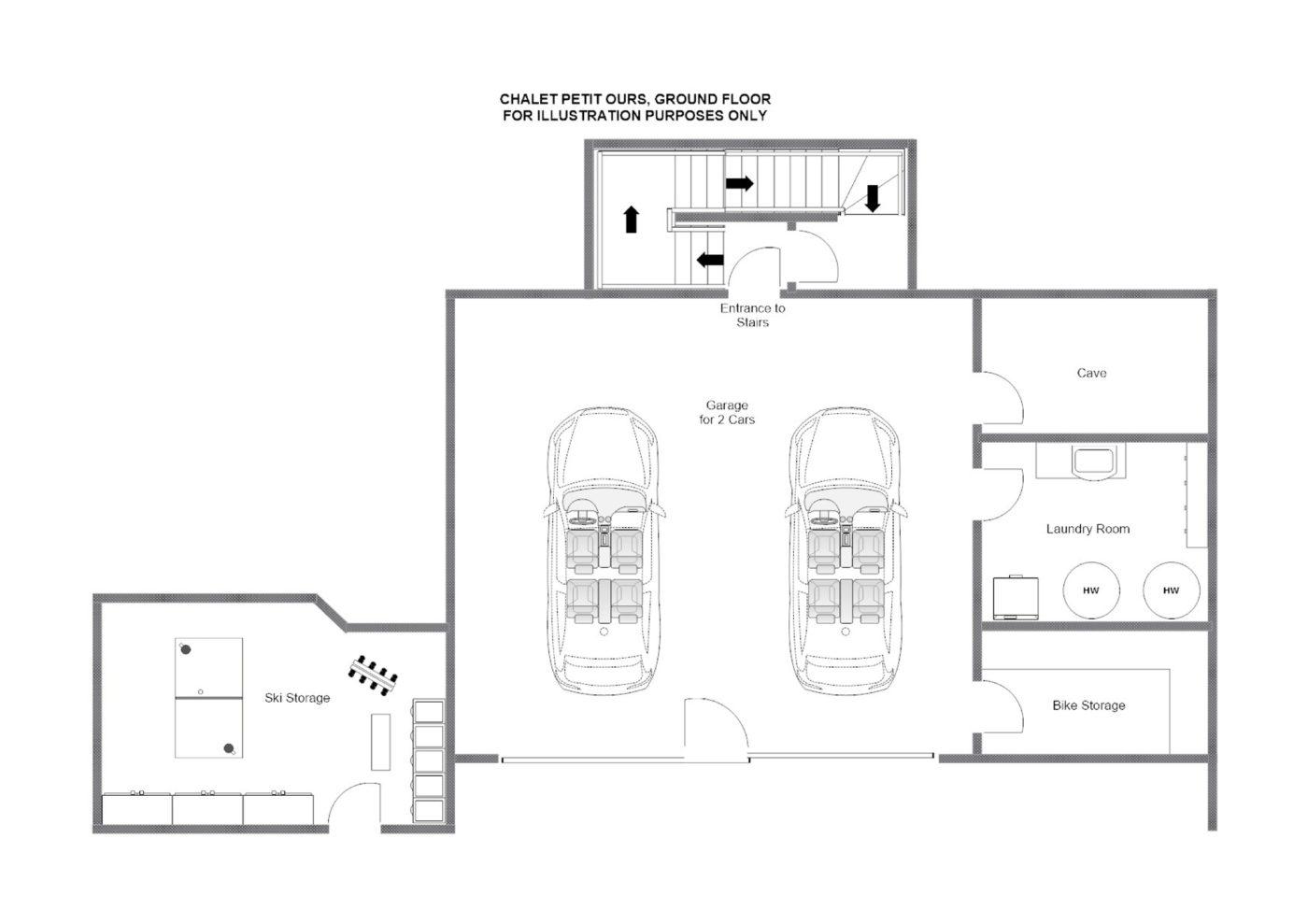 Chalet Petit Ours Verbier Floor Plan 4
