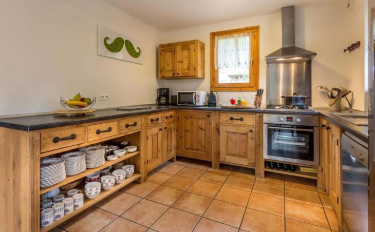 Chalet White Moustache, Meribel, Kitchen