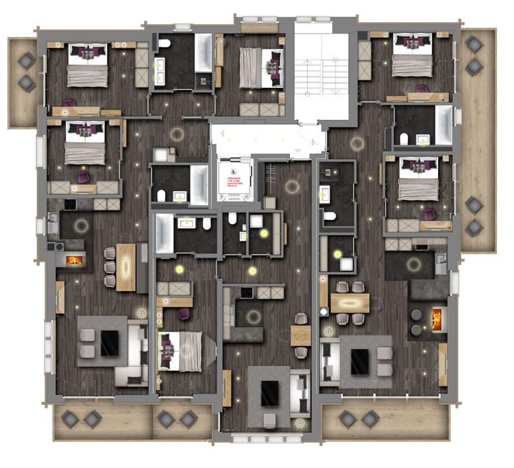 Christiania Residence Zermatt Floor Plan 4