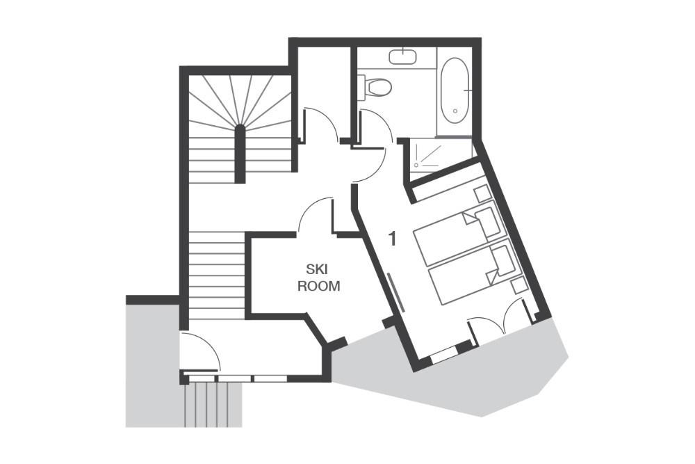 Chalet Ossetra Avoriaz Floor Plan 2