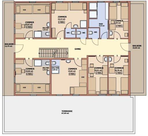 Chalet Auhof Flachau Floor Plan 2