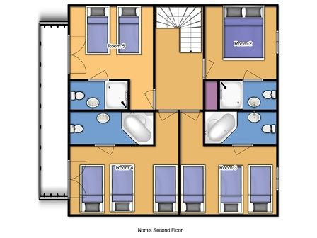 Chalet Lys Blanc Meribel Floor Plan 3