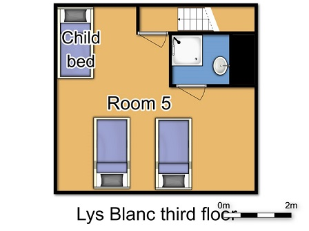 Chalet Lys Blanc Meribel Floor Plan 4