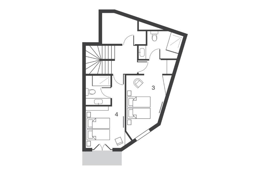 Chalet Kakisa Avoriaz Floor Plan 3