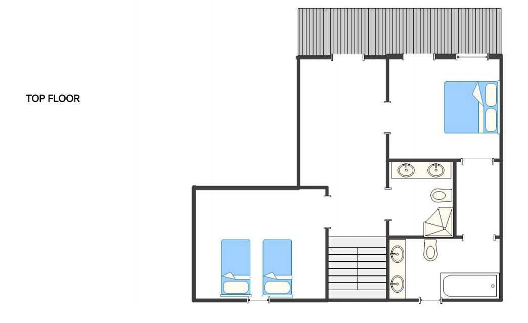 Chalet Dunmore Verbier Floor Plan 2