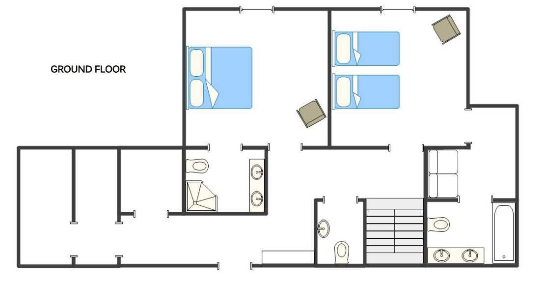 Chalet Dunmore Verbier Floor Plan 3