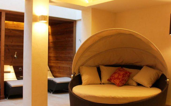 Hotel Haldenhof, Lech, Relaxation area
