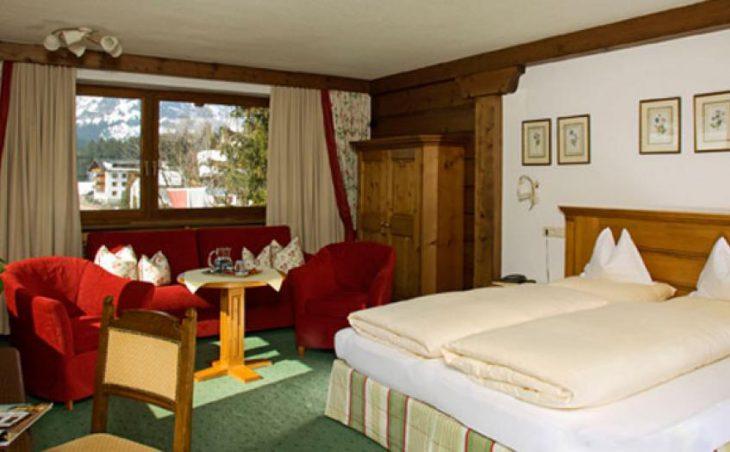 Hotel Haldenhof, Lech, Bedroom
