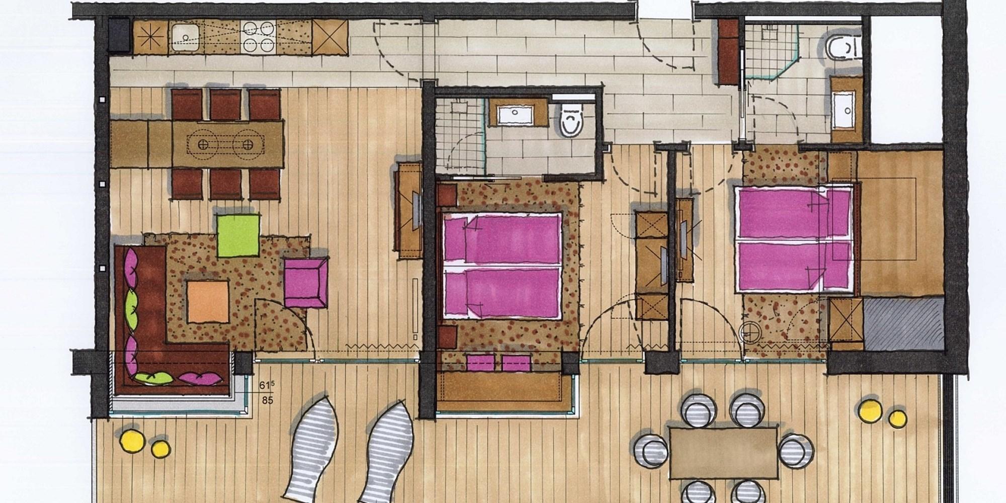 Lederer's Living Kaprun Floor Plan 1