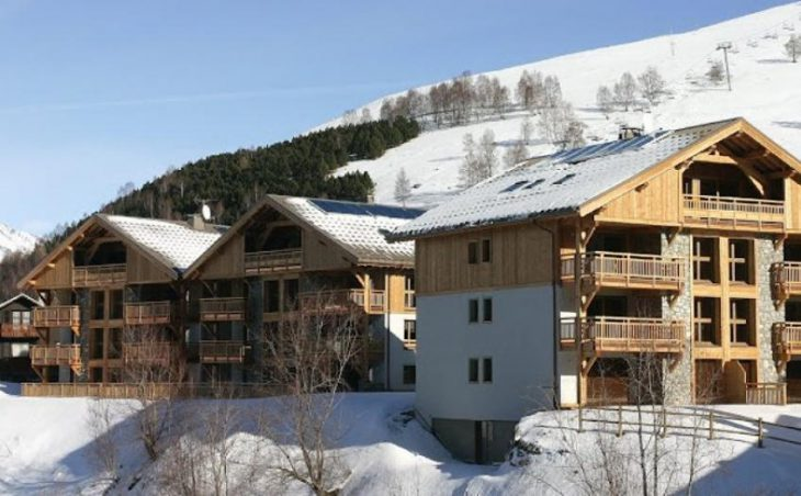 Residence Le Goleon and Le Val Ecrin in Les Deux-Alpes , France image 1