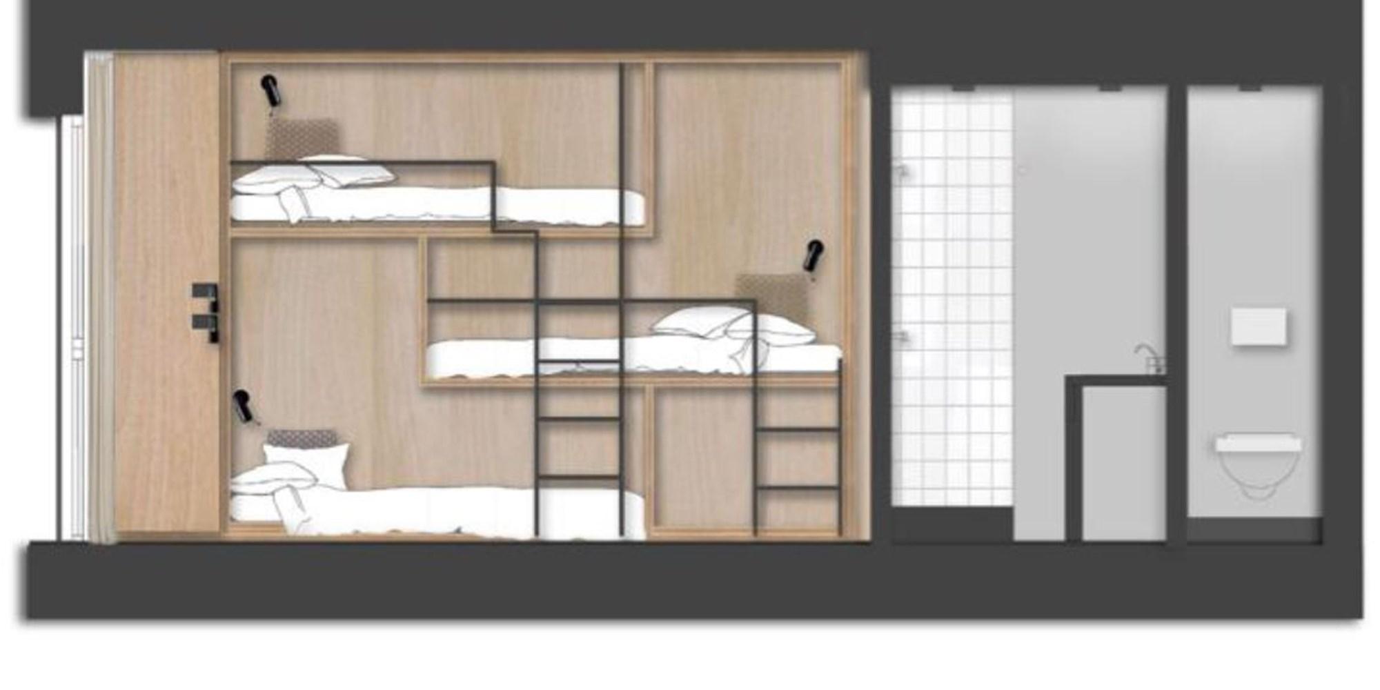 La Folie Douce Chamonix Floor Plan 2