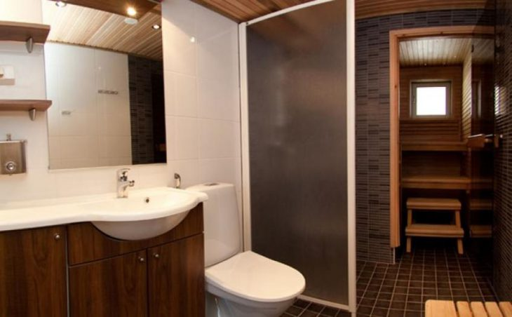 Levi Cottages, Levi, Bathroom