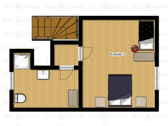 Chalet Mautalent Morillon Floor Plan 1