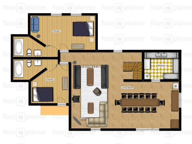 Chalet Mautalent Morillon Floor Plan 2