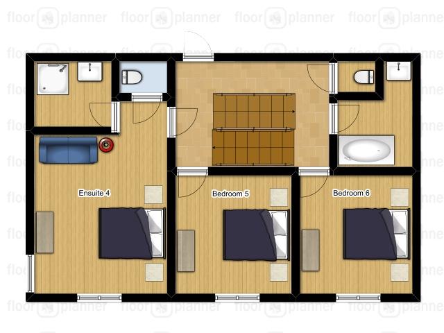 Chalet Mautalent Morillon Floor Plan 3