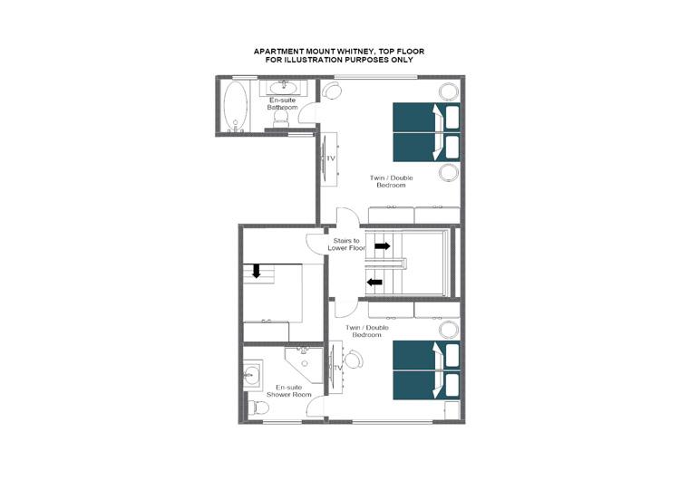 Mount Whitney Zermatt Floor Plan 2