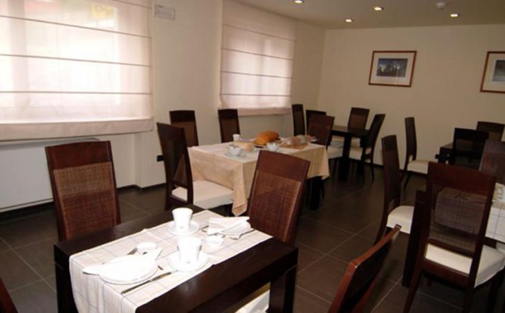 Hotel Nordend, Gressony, Dining Room