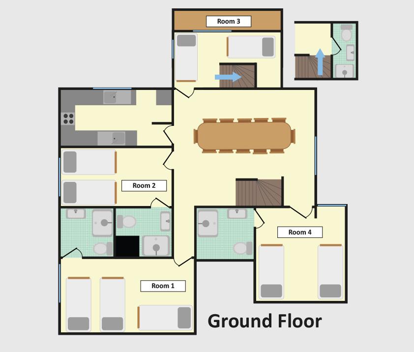 Chalet Ramo Tignes Floor Plan 1