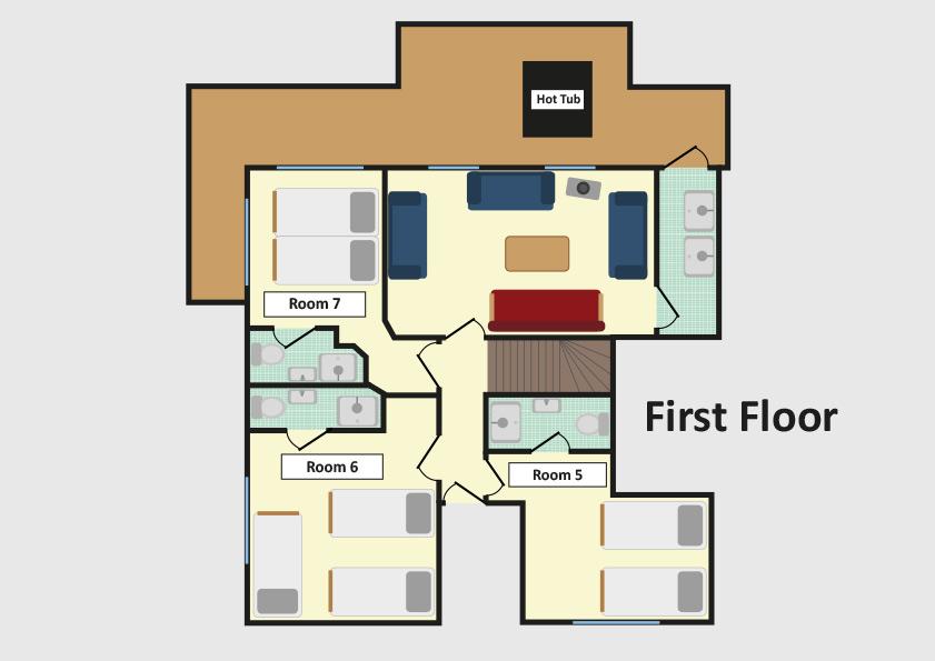 Chalet Ramo Tignes Floor Plan 2