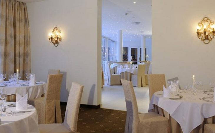 Hotel Saalbacherhof, Saalbach, Dining room