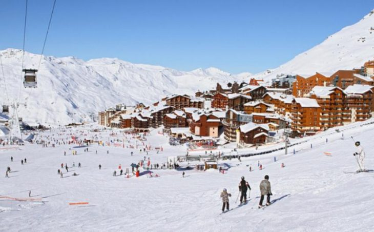 Val Thorens in mig images , France image 4