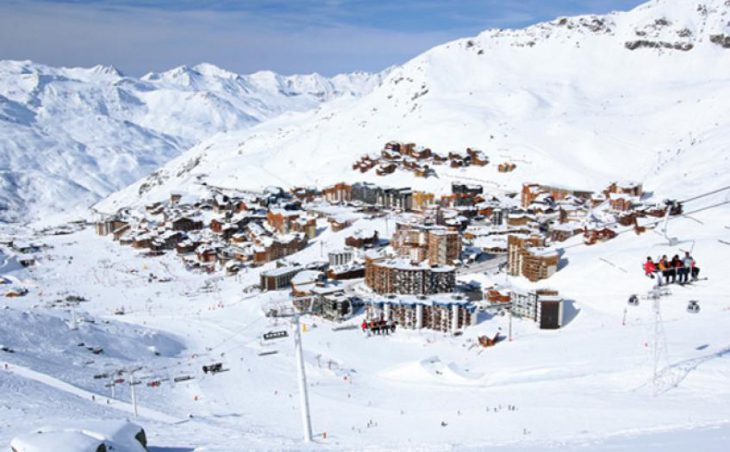 Val Thorens in mig images , France image 3