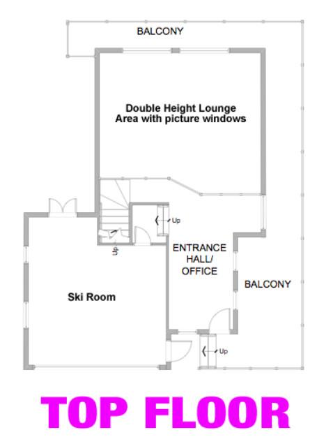 Chalet StarSki Morzine Floor Plan 3