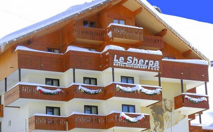 Hotel Le Sherpa, Val Thorens, External
