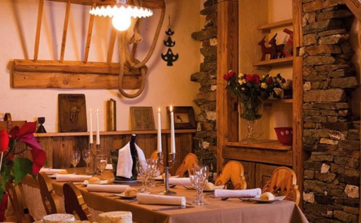 Hotel Le Sherpa, Val Thorens, Dining Room