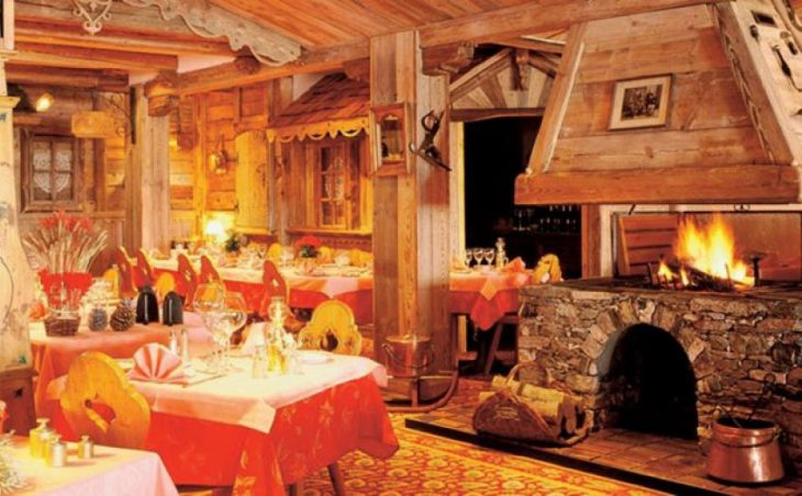 Hotel Le Sherpa, Val Thorens, Dining Area